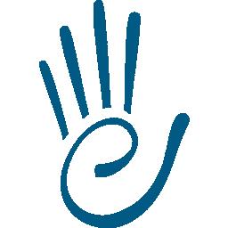 Elite Hand Icon Blue Elite Performance Rehabilitation Center